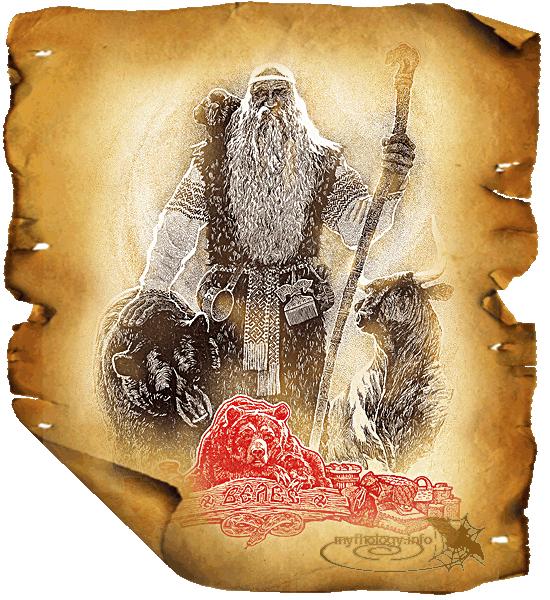 Велес в славянской мифологии (скотий бог) Велес символ и фото скотий